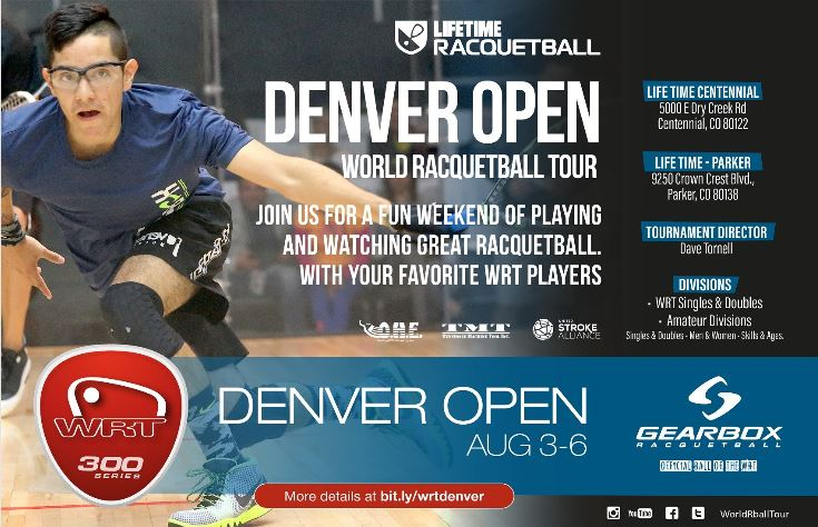 World Racquetball Tour Denver Open 2017