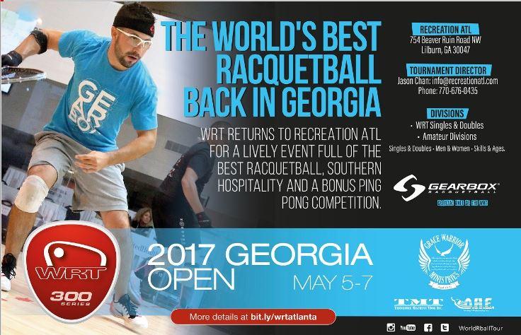 World Racquetball Tour Georgia Open 2017