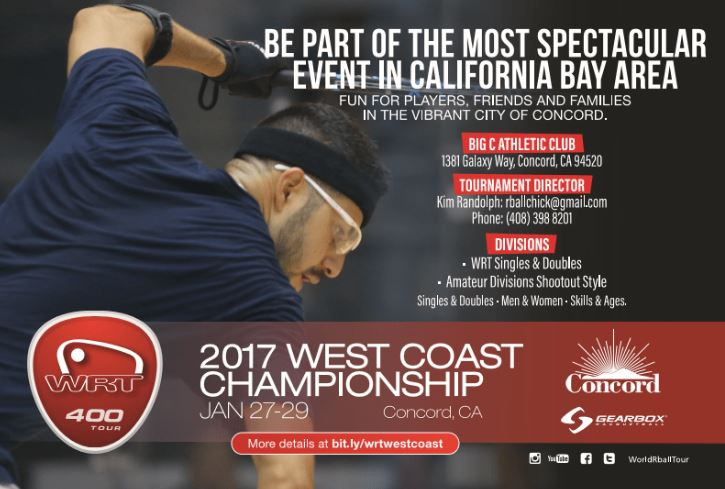 World Racquetball Tour West Coast Championship 2017