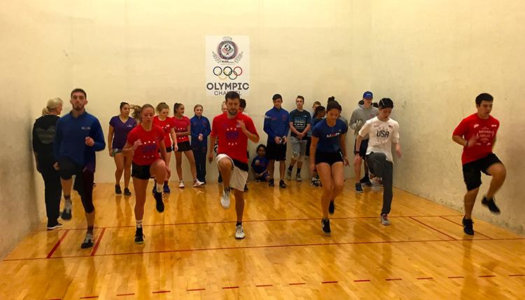 2017 USA Racquetball Junior National Team Training