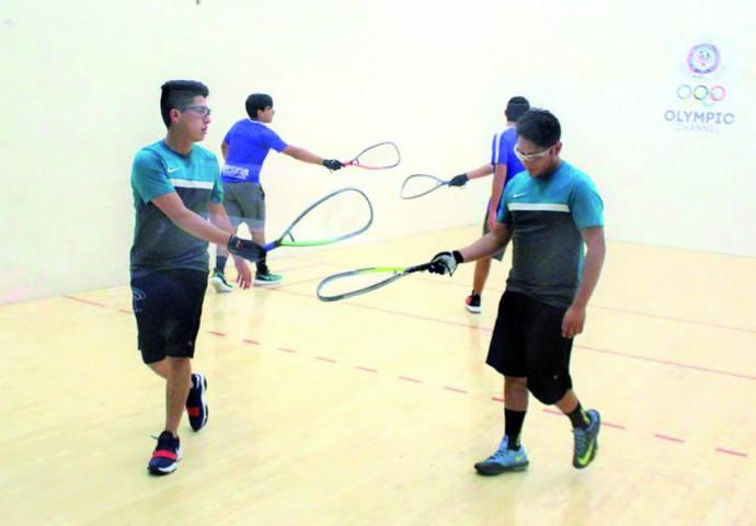 International Racquetball Federation Bolivia Doubles Team