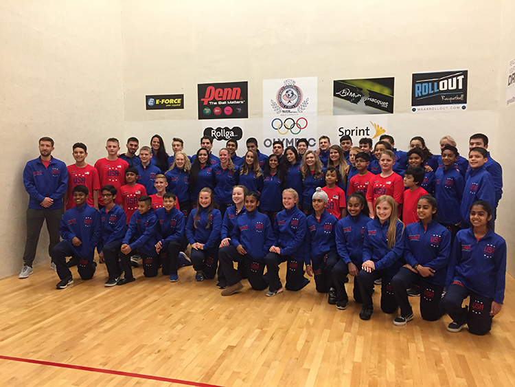 USA Racquetball Junior National Team 2017