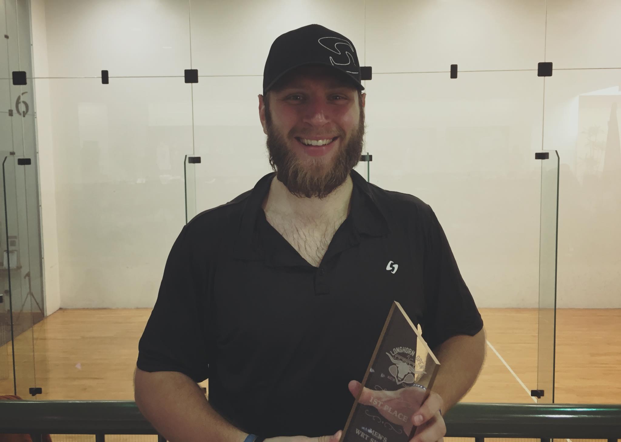 2018 Longhorn Open Singles Champion Jake Bredenbeck