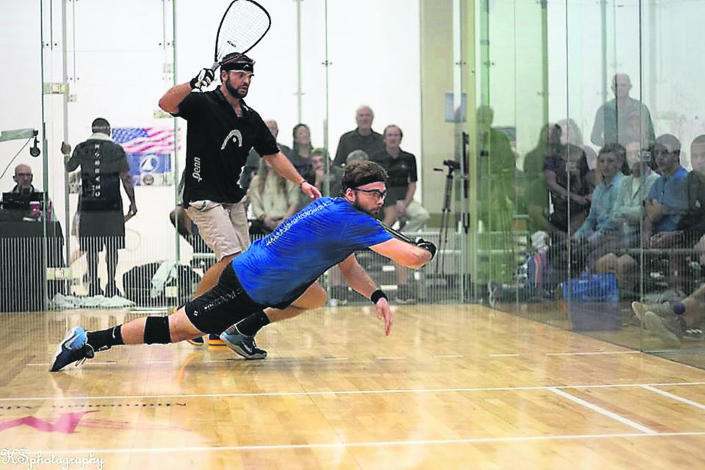 samuel murray International Racquetball Tour Pro Doubles