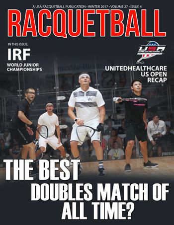 USA Racquetball Magazine Winter 2017