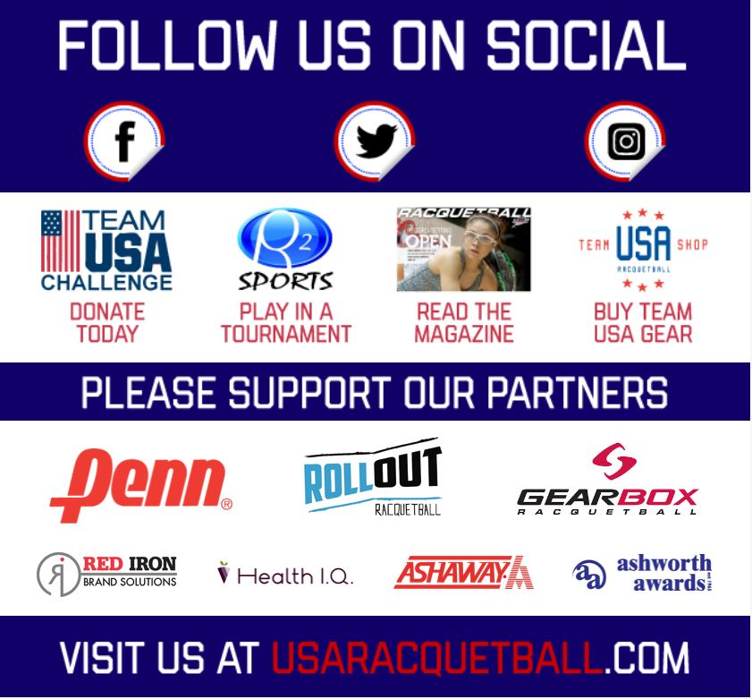 USA Racquetball Constant Contact Scholarship