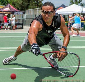 Greg Solis Racquetball Champion