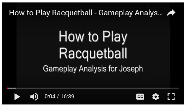Racquetball Tim