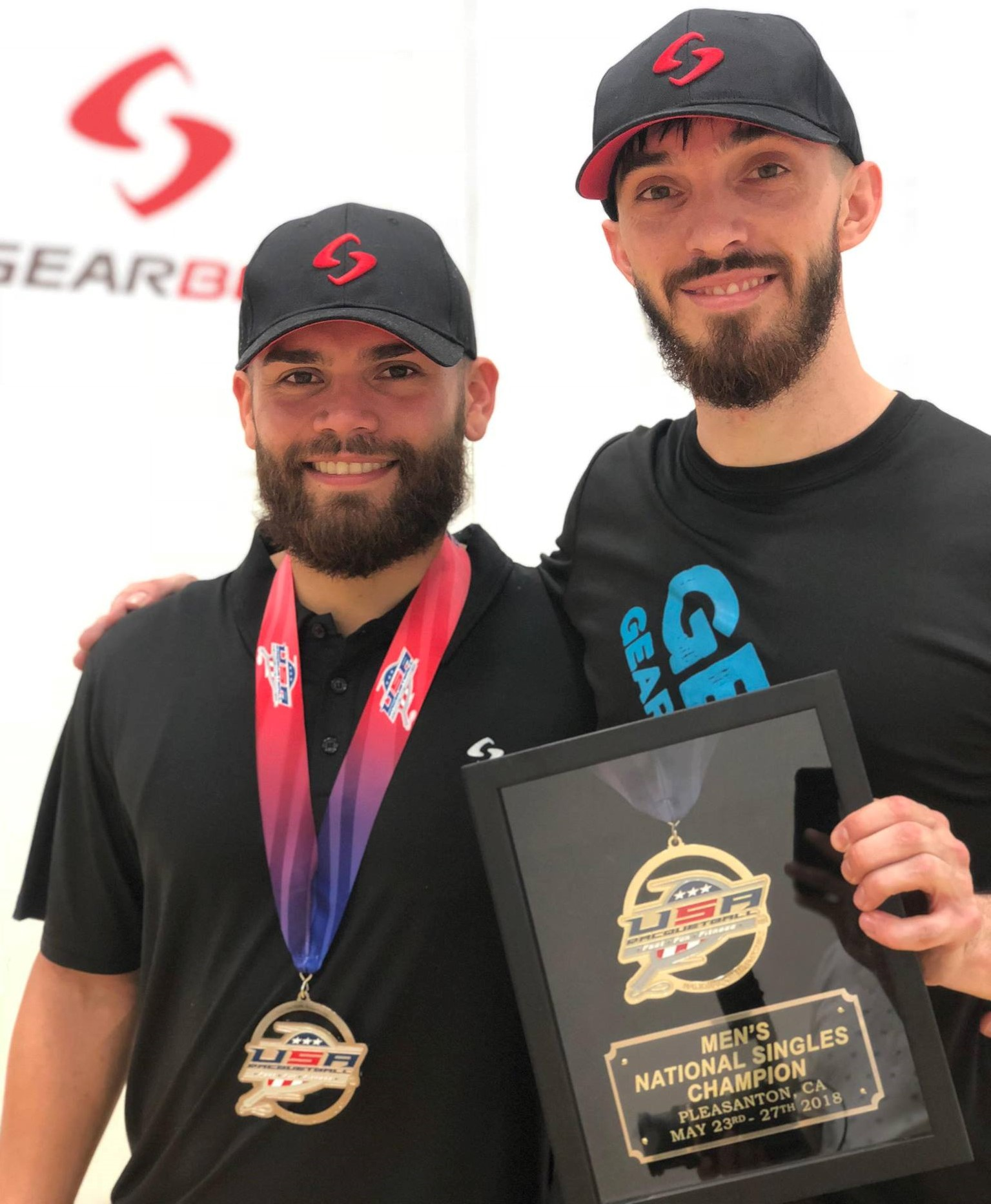 2018 USA Racquetball National Singles Champion Bobby Horn
