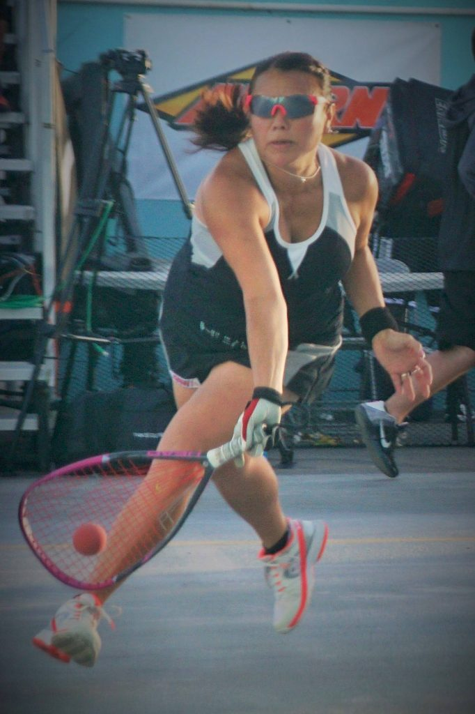 Jacqueline Paraiso-Larsson Racquetball Professional Photographed by Vincent