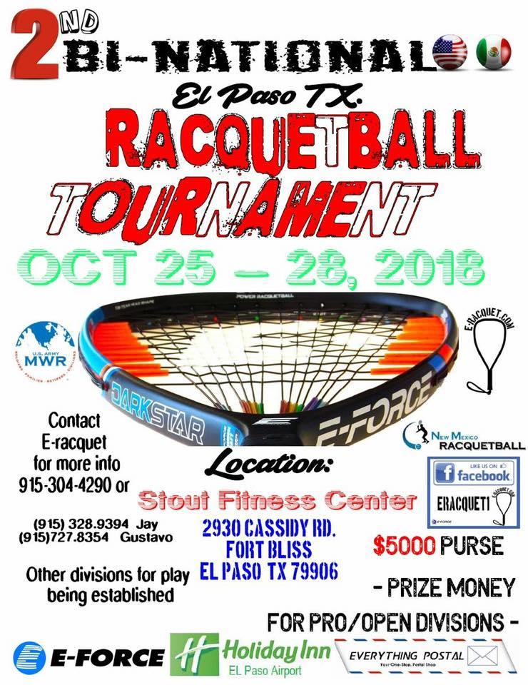 2nd Bi-National Racquetball Tournament El Paso