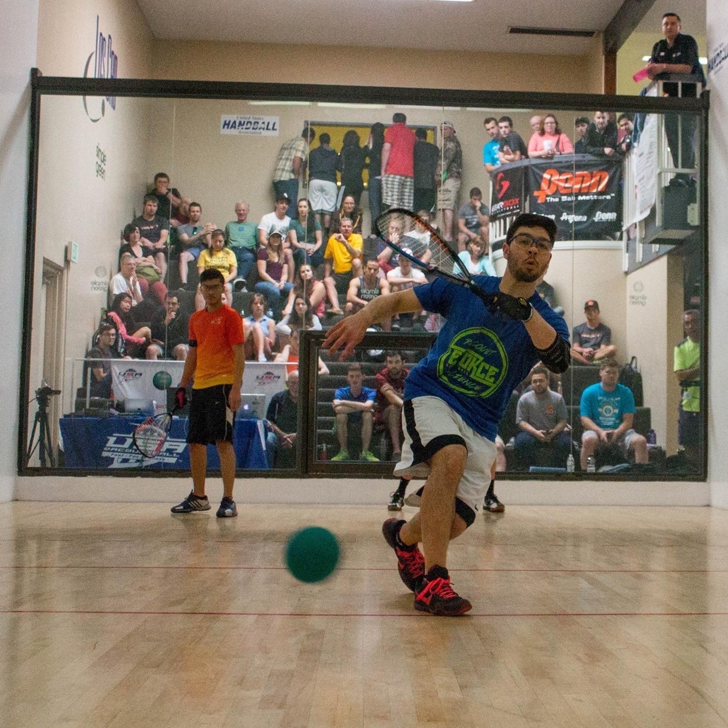 Thomas Carter Racquetball Athlete