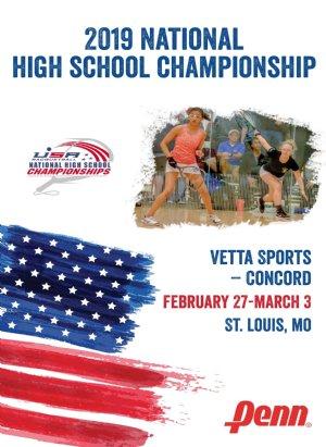 2019 National High School Racquetball Championship