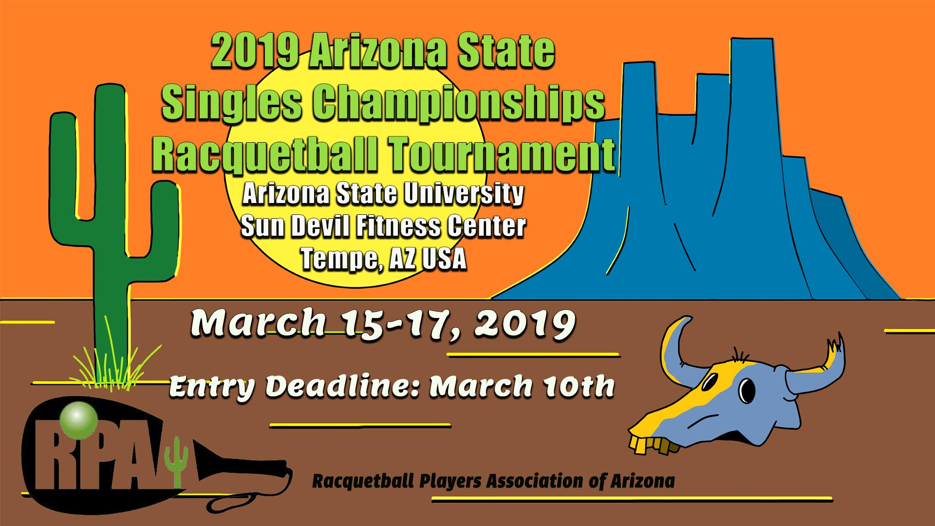 Racquetball Players Association of Arizona State Championships 2019