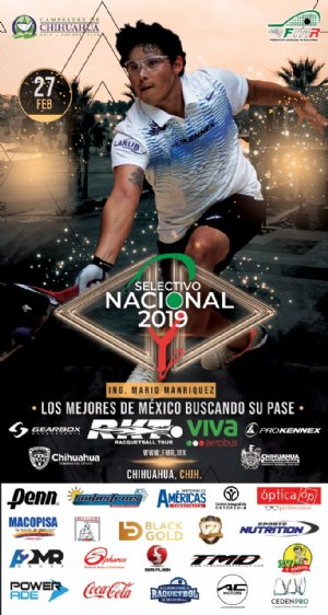 Selectivo Nacional 2019 Racquetball Tournament