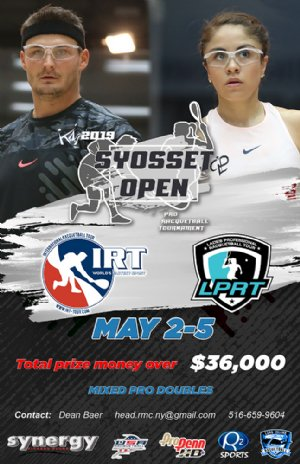 Syosset Open 2019 Racquetball Tournament