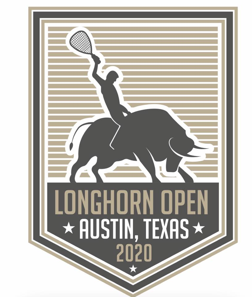 Longhorn Open Racquetball Tournament Logo