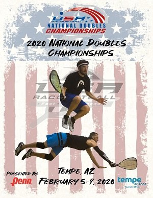 2020 National Doubles USA Racquetball