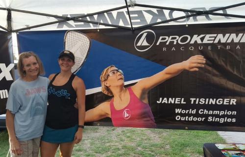 Janel Tisinger Racquetball